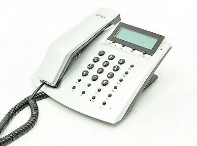AGFEO T 15 eco analoges Telefon silber Rechnung+MwSt.