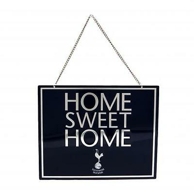Tottenham Hotspur F.C. Home Sweet Home Hanging Metal Sign ( f47hswto )