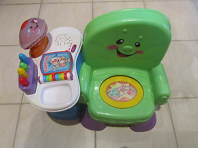 Fisher Price Laugh & Learn Musical Activity Learning Chair 12+ Months