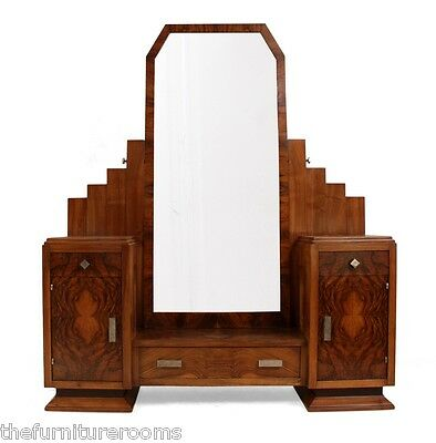 French Art Deco Dressing Table by Henry Geneste c1920 (782)