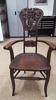 "Very Cool Antique ""North Wind"" Chairs"
