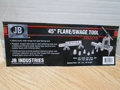 Just Better JB Swaging And Flaring Tool Kit With Case LN