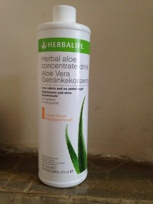 Herbalife Aloe Concentrate Drink Aloe Vera Mango Flavour 437ml