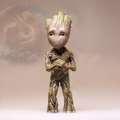 Sad Abasement Little Baby Groot Guardians of the Galaxy 2 Figurine Figure