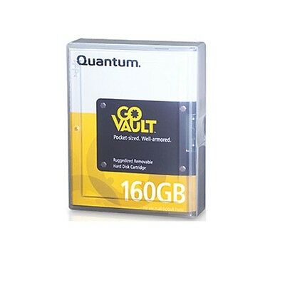 Quantum GoVault 160GB Removable Disk Cartrige Part # QRM160 USED