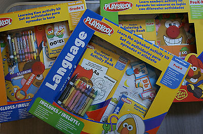 Playskool Basic Skills Kits Brand New! Includes Telling The Time/language/maths