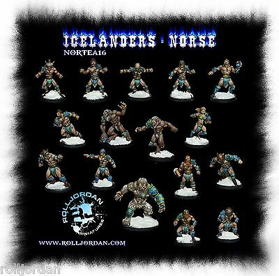 Fantasy Football - Norse Team for Blood Bowl - Rolljordan NORTEA016