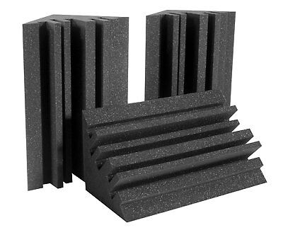 Auralex MetroLENRD Box of 8 Bass Traps Smooth Room Node Acoustic Treatment