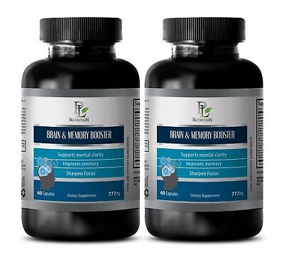 Memory booster and focus supplement  - Brain & Memory BOOSTER FORMULA 777 - 2B