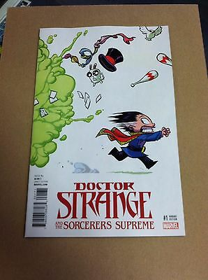 Doctor Strange and the Sorcerers Supreme #1 Skottie young variant.