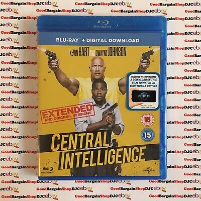 Central Intelligence (Blu-ray, 2016) *New & Sealed*