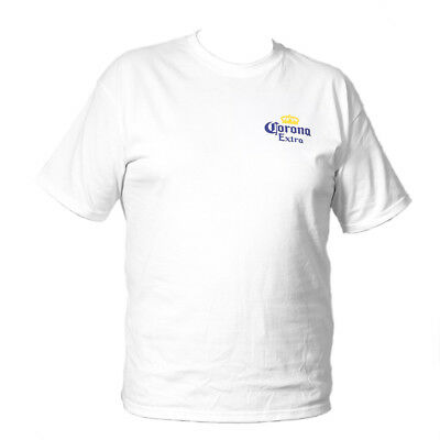 New Corona t shirt white sizes S - XXL genuine made in Mexico beer memorabilia