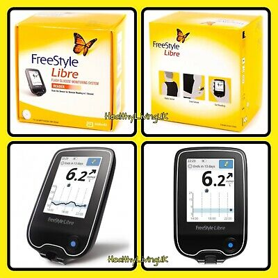 Abbott Freestyle Libre Flash Glucose Reader Monitoring System/Meter -RRP £399