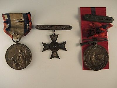 Marine Corps good conduct to Collingwood1910 Cuban Pacification medal #858
