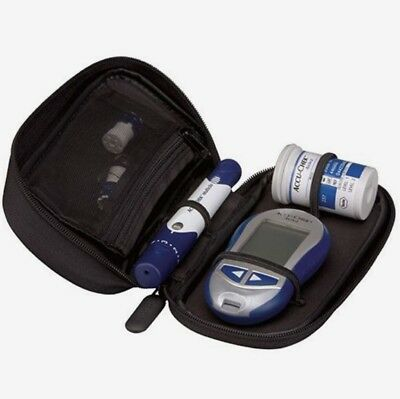 Accu-Chek Carry Case - Official - Zipped - 16cm x 9cm - Brand New - RRP £29.99