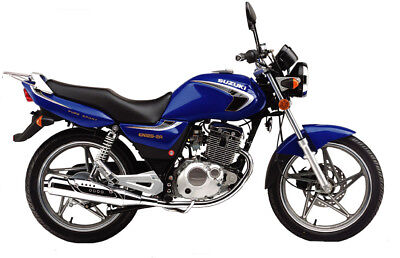 SUZUKI YES  EN125 (Thunder 125) Service , Owner's and Parts Manual CD
