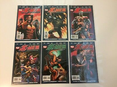 X-Men The End Heroes Martyrs Complete Set #1-6 Marvel (2005) VF/NM Lot Claremont