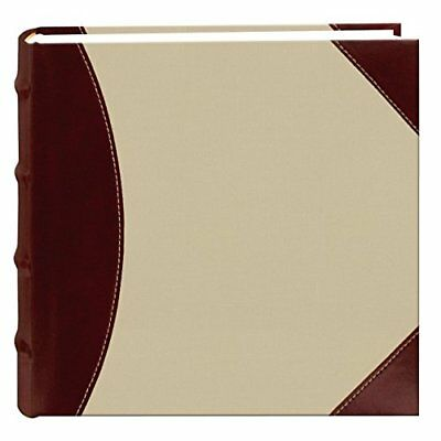 NEW  Photo Pioneer Sewn Leather Album Cover Frame Holds 4x6in 300 Photos