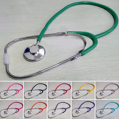 Single Dual Head Functional Professional Stethoscope Medical Home Estetoscopio