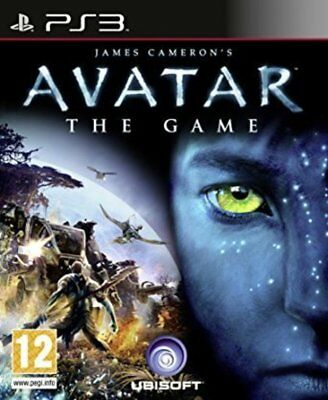 AVATAR THE GAME Sony Playstation 3 PS3 Game PAL + Booklet