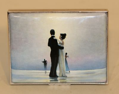 2004 Halcyon Days Enamel Trinket Box Jack Vettriano Dance Me to the End of Love