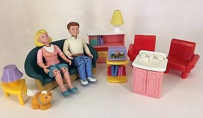 Fisher Price - Loving Family / Dream Dollhouse - Figures & Furniture #6