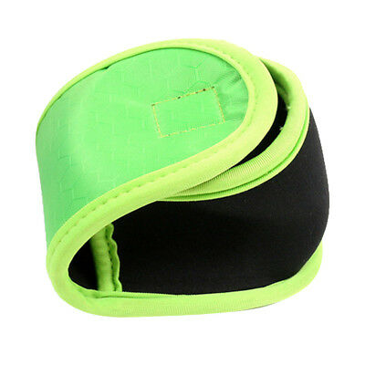 Neoprene Fishing Reel Cover Reel Pouch Bag with Fishing Line Pocket Green