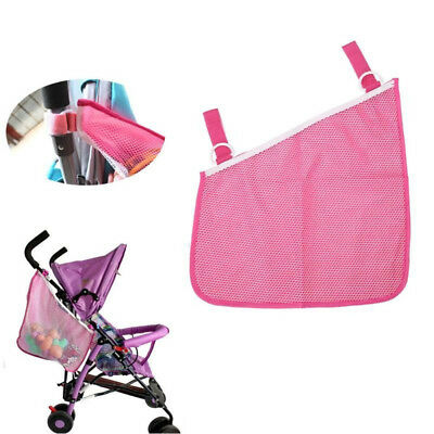 Durable Hanging Net Mesh Bag Storage Organizer Pushchair Baby Infant Stroller