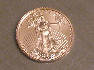 2016 1/10 oz Gold American Eagle Coin Brilliant Uncirculated BU