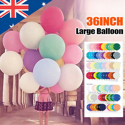 Giant 36Inch 90cm Balloon Latex Wedding Birthday Party Festival Event
