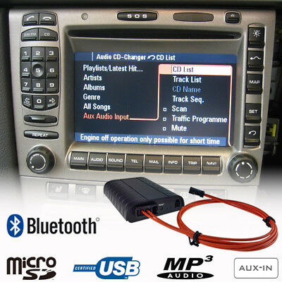 Bluetooth USB Adapter For Porsche 911 Boxster Cayman Cayenne PCM 2.0 2.1 Car Kit