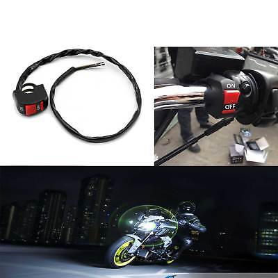 Universal Kill On Off Switch Button Stop Handlebar For Motorcycle Motorbike ONE