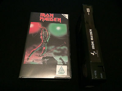 Iron Maiden Australian Vhs Video