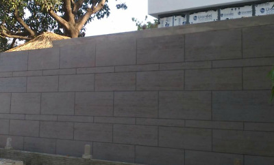 Flexclay Travertine,Wall Cladding, Facade, Landscaping, Feature wall Only $66/m2