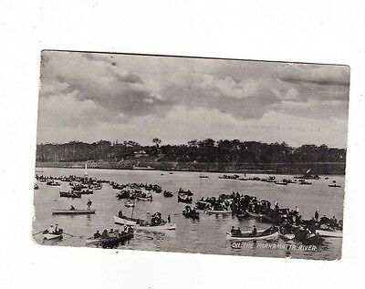 Australia Postcard, On the PARRAMATTA RIVER, NSW