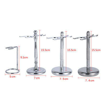 Alloy Razor Shaving Brushes Stand Rack Frame Holder Support Home Shaving Tool J