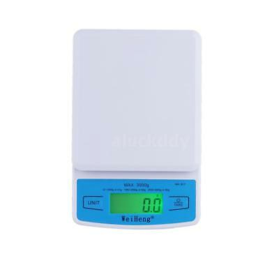 3000g 0.1g 3kg Kitchen Digital Scales Weighing Electronic Food LCD Scale N7R7