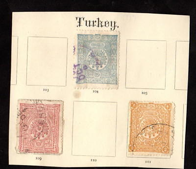 Stamps ~ TURKEY TURKISH ~ Very Early