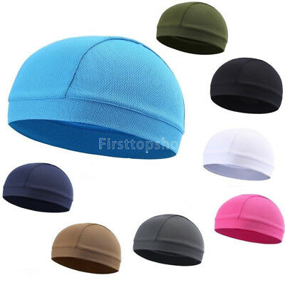 Multi-color Breathable Skull Cap Helmet Liner Quick Drying Running Cycling Hats