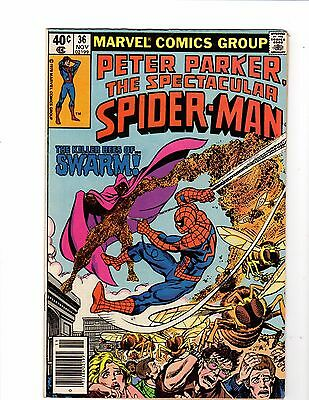 The Spectacular Spider Man #36 Marvel 1979 Good condition