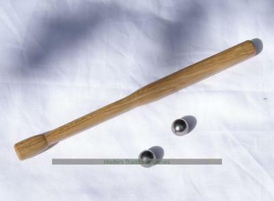 Hand-made wooden cue for Pin Bagatelle