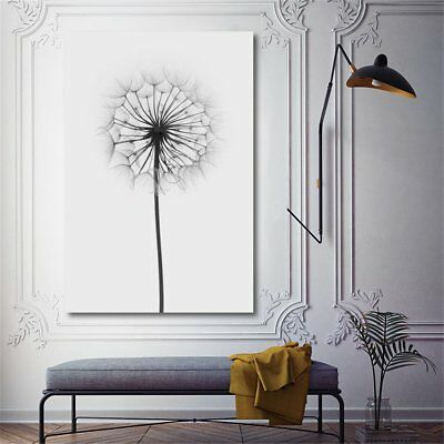 Minimalism Dandelion Canvas Print Painting Wall Art Pictures Home Decor Unframed