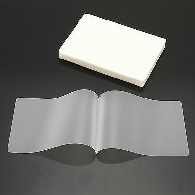100X 70Mic A7 Laminate Film 80*110mm Laminating Pouch Glossy Protect Photo Paper
