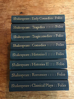 Folio Society 1999 - Shakespeare The Complete Plays 8 volumes