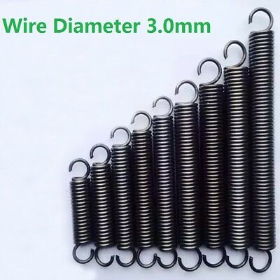 Expansion Spring Tension Extension Expanding Springs Wire Dia. 3.0mm OD 16-30mm