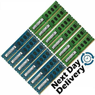 Memory Ram 4 Desktop PC DDR3 PC3 10600U 1333MHz 240 Pin DIMM Non ECC GB 2x Lot
