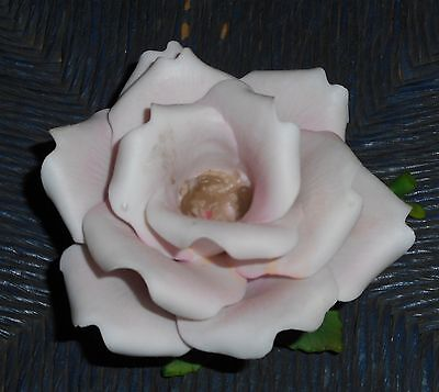 Large Rose Porcelain Candle Holder