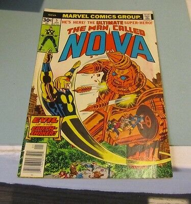 1976 1978 Marvel The Man Called Nova Comic Book Lot #5 #24 Attack From Space