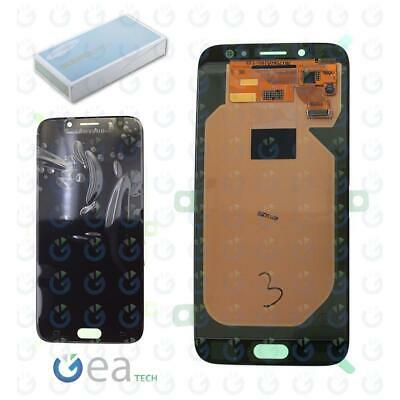 SAMSUNG Display LCD Originale + Touch Screen Per Galaxy J7 2017 SM-J730F Nero