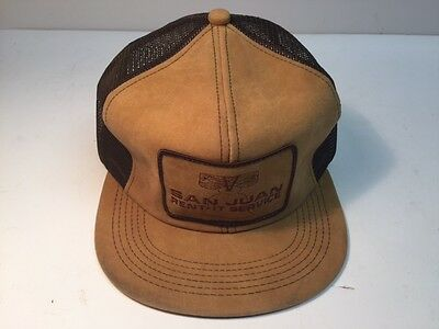 San Juan Rent-It Service Vintage Collectible Hat - Unique